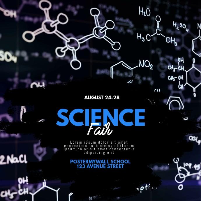 Science fair video template