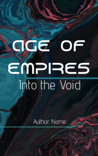 Science fiction novel cover art