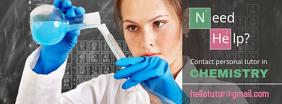 Science Tutor Facebook Cover Template