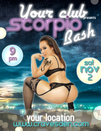 Scorpio nov sexy club party