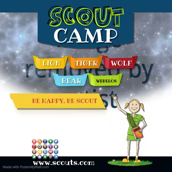 scout camp video insta