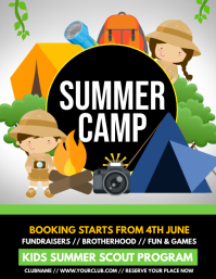 scouts, summer camp, camping