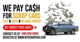 Scrap Cars Deal Promo Template Facebook Shared Image