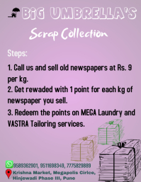 Scrap Collection Flyer