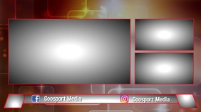 screen overlay Pantalla Digital (16:9) template