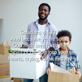 Scripture Instagram Template