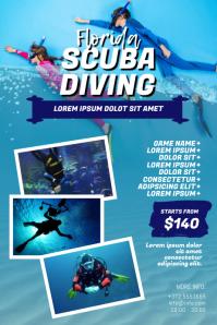Scuba Diving Flyer Design Template