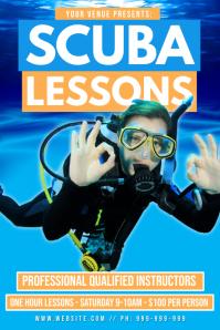 Scuba Lessons Poster