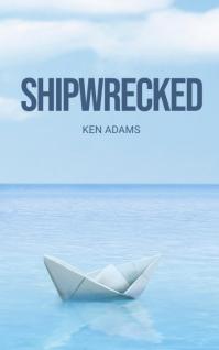 Sea Adventure Book Cover Template Copertina di Kindle