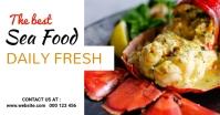 Sea food,seafood,menu Facebook Shared Image template