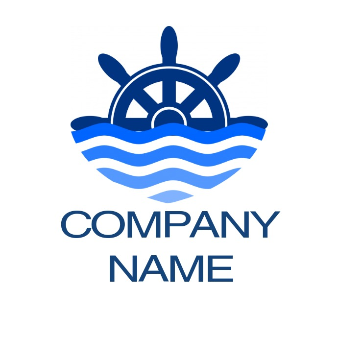 sea food or sea related logo