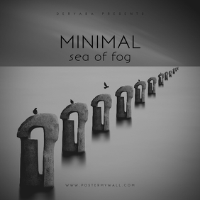 Sea of Fog CD Cover Art Template