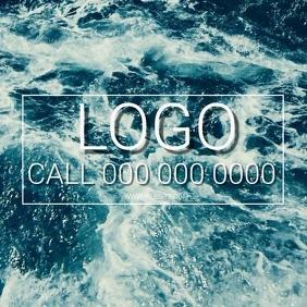 SEA WAVE WAVES OCEAN OCEANS LOGO