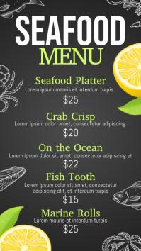 seafood, seafood menu , menu Umbukiso Wedijithali (9:16) template