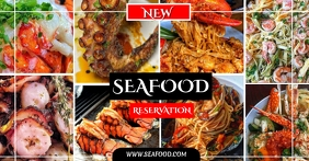 SEAFOOD Facebook Shared Image template