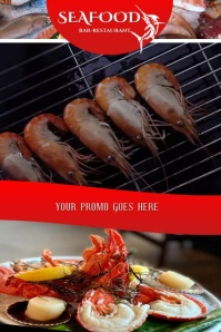 SEAFOOD Poster template