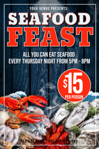 Seafood Feast Poster