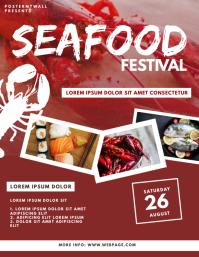 Seafood Festival Flyer Design Template