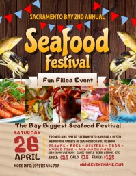 Seafood Festival Flyer Tempkat