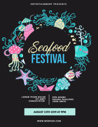 Seafood Festival Flyer Template