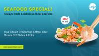 Seafood Fish Restaurant Menu Blog post template