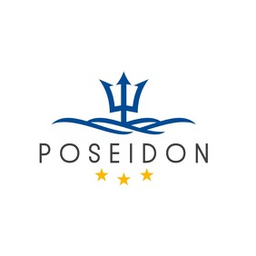 seafood or hotel restaurant logo Логотип template