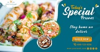 Seafood Promotion Banner Facebook Post template