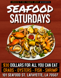 SEAFOOD SATURDAYS