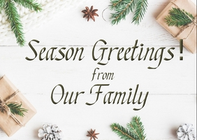 Season Greetings from our Family