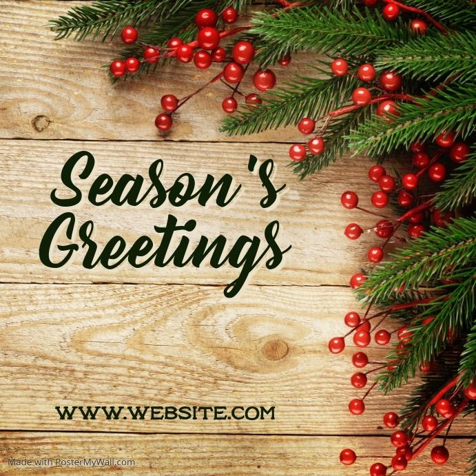 Season greetings wishes