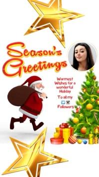 Season's Greetings Video Template