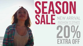 Season Sale Apparel Video Ad Template