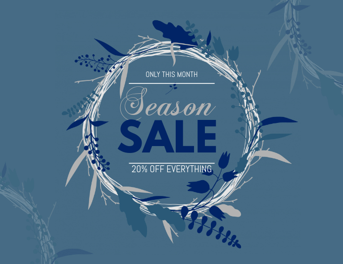 Season Sale Flyer Template