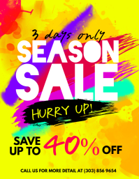 Season Sale Flyer