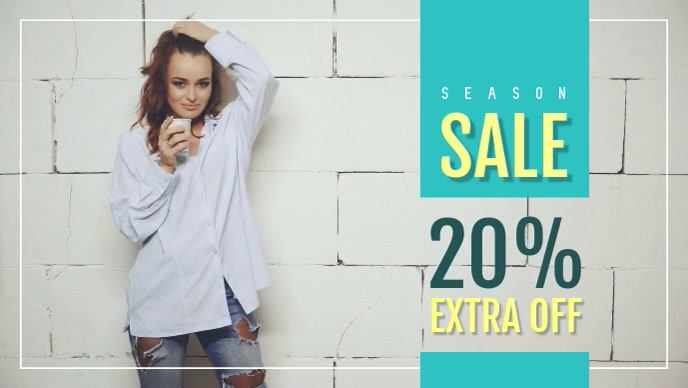Season Sale Poster Ad Video
