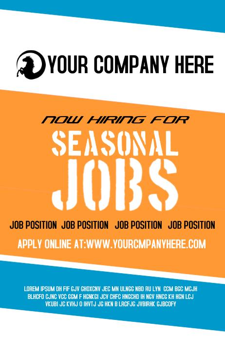 Seasonal Jobs