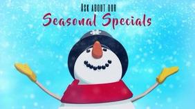 Seasonal Specials Snowman