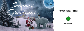 Seasons Greetings Facebook Cover