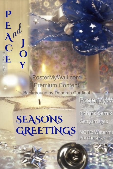Seasons Greetings Poster Template