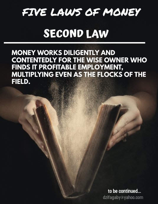 Second law of money