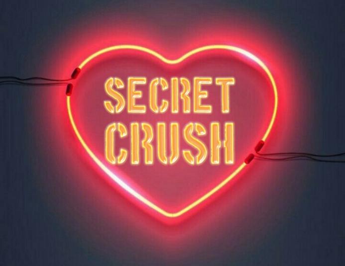 secret crush Løbeseddel (US Letter) template