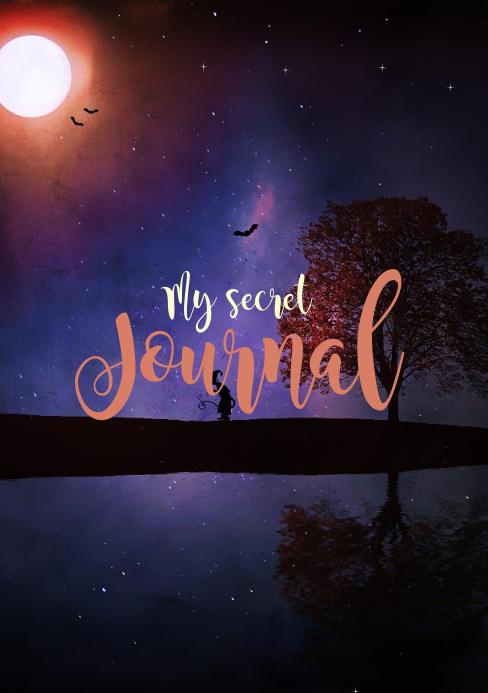 Secret Journal A5 template