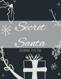 Secret Santa Flyer