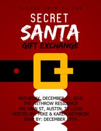Secret Santa Gift Exchange
