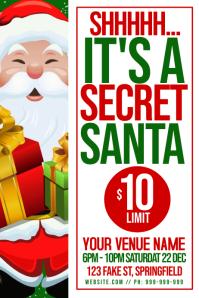 Secret Santa Poster
