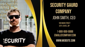 Security Gaurd Business Card