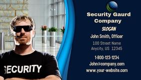 Security Gaurd Business Card