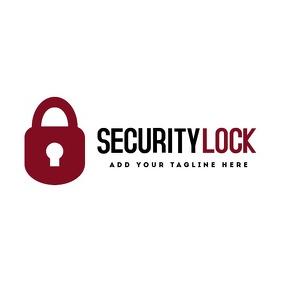 security lock logo icon