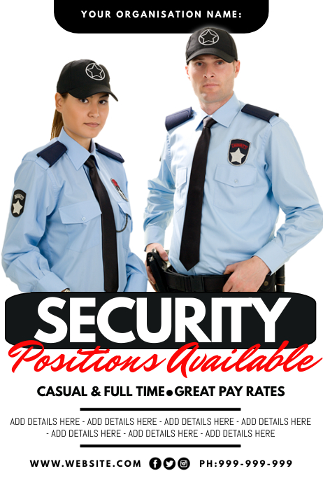 Security Job Available