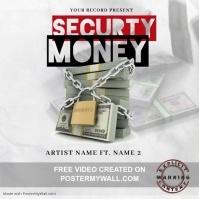 Securty Money Mixtape/Album Cover Art Okładka albumu template